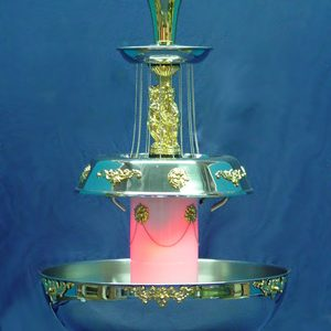 Champagne Fountain, 5-gallon Gold Trim